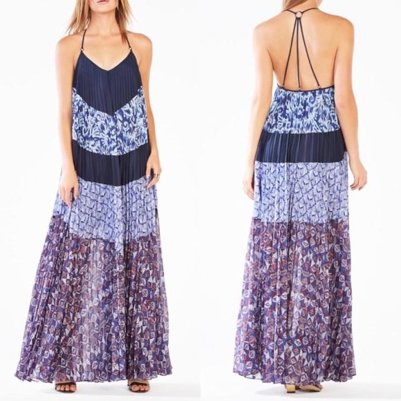 775821713e2b9 BCBGMaxAzria Dresses | Nwt Bcbg Max Azria Juna Pleated Maxi Dress ...